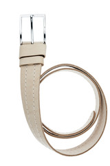 Beige men  belt