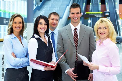 Business team.