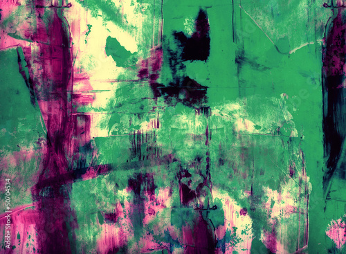 Grunge collage, watercolor style , great background or texture - 50704534