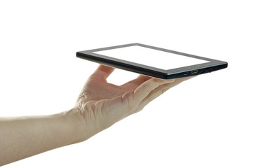 Tablet in the hand