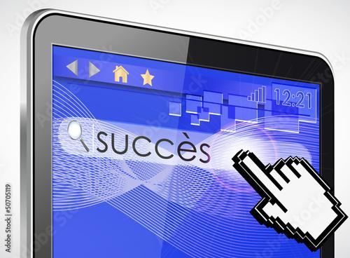 tablette tactile recherche : succès