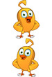Cartoon chick character
