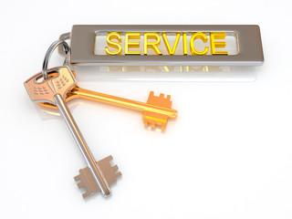 Keys to service