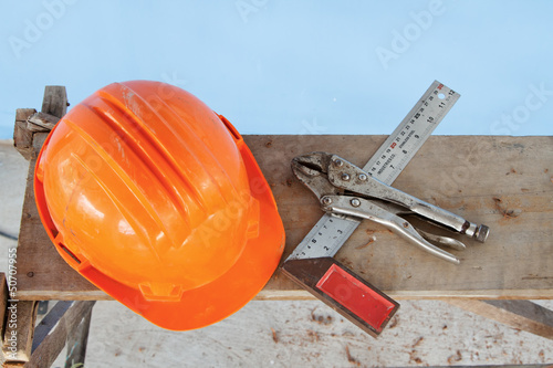 Safety Helmet and standard handtool