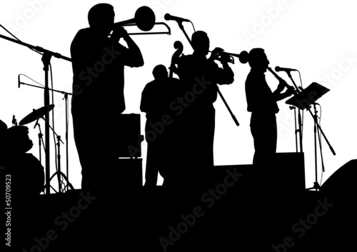 Jazz band on stage - 50709523