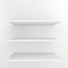 shelves for product