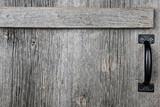 Old barn wood door