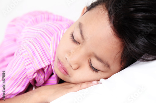 Sleeping Young Girl
