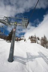 Seggiovia Impianto sulla neve