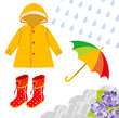 Rain gear for children