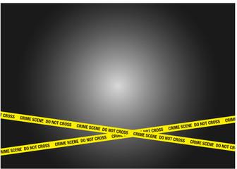 crime scene police line absperrband
