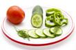 Salatgurke mit Dill