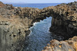 rock arc at Graciosa Island, Canary Islands, Spain