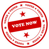 Vote Now Stamp