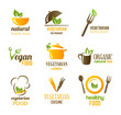 Vegetarian Food Icons