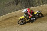 Fototapety Motocross pilot