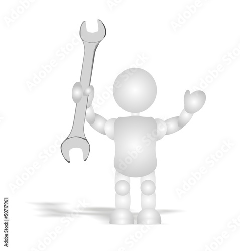 builder - tool (3D people)