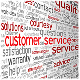 """""""CUSTOMER SERVICE"""" Tag Cloud (contact details us help hotline)"""