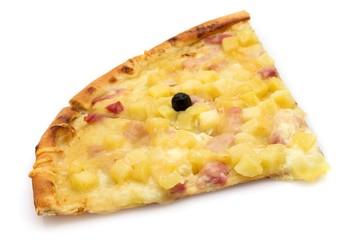 Pizza tartiflette.