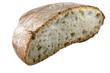 Pane cotto al forno, metà