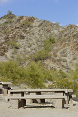 Recreation Area in Northern Mountain Park, Phoenix,  AZ