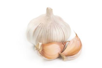 Garlic and a few slices