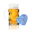 Maß Bier mit Herz