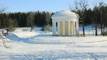 PAN of Temple of Friendship in Pavlovsk, Russia