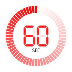 timer rund 60 sec II