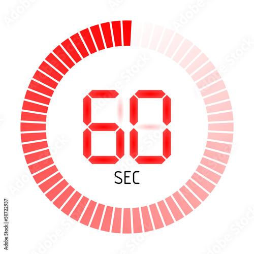 timer rund 60 sec II - 50722937