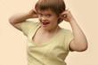 portrait d'enfant trisomique
