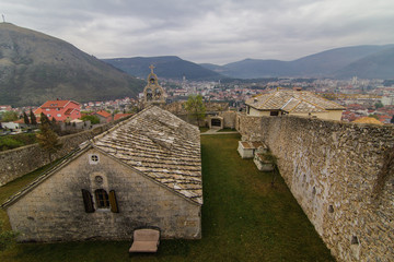 Old Orthodox church in Mostar, Bosnia and Herzegovina