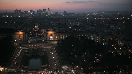 Франция. Паржи. Панорама города