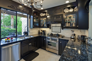 Small home luxury kitchen