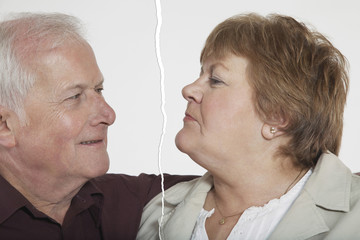 Senior couple ripped apart due to relationship difficulties