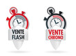 VENTE CHRONO -  VENTE FLASH