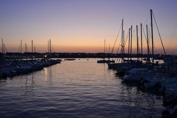 Tramonto al Porto di Otranto