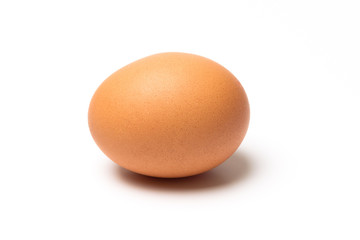 Egg isolated on a white background