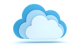 3 blaue Wolken - Cloud-Computing