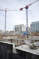 chantier urbain