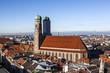 .Famous Munich Cathedral - Liebfrauenkirche