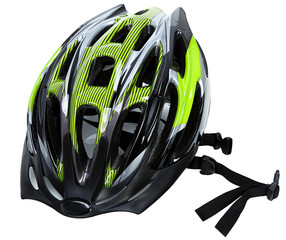 Cycling Helmet Isolated On White
