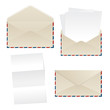 Envelope and paper sheets