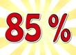 85 Prozent