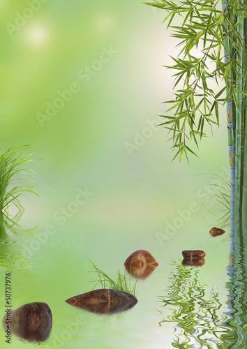 concept décor nature, détente, bien-être, relaxation