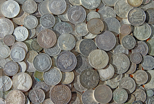 Ancient silver coins