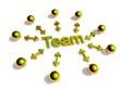 3D Goldzeichen - Team