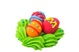 Easter sugar confectionery poster