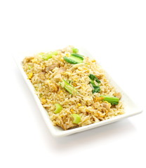 fried rice an excellent side order with chinese food