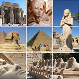 Egypt Landmark Collage - Highlights